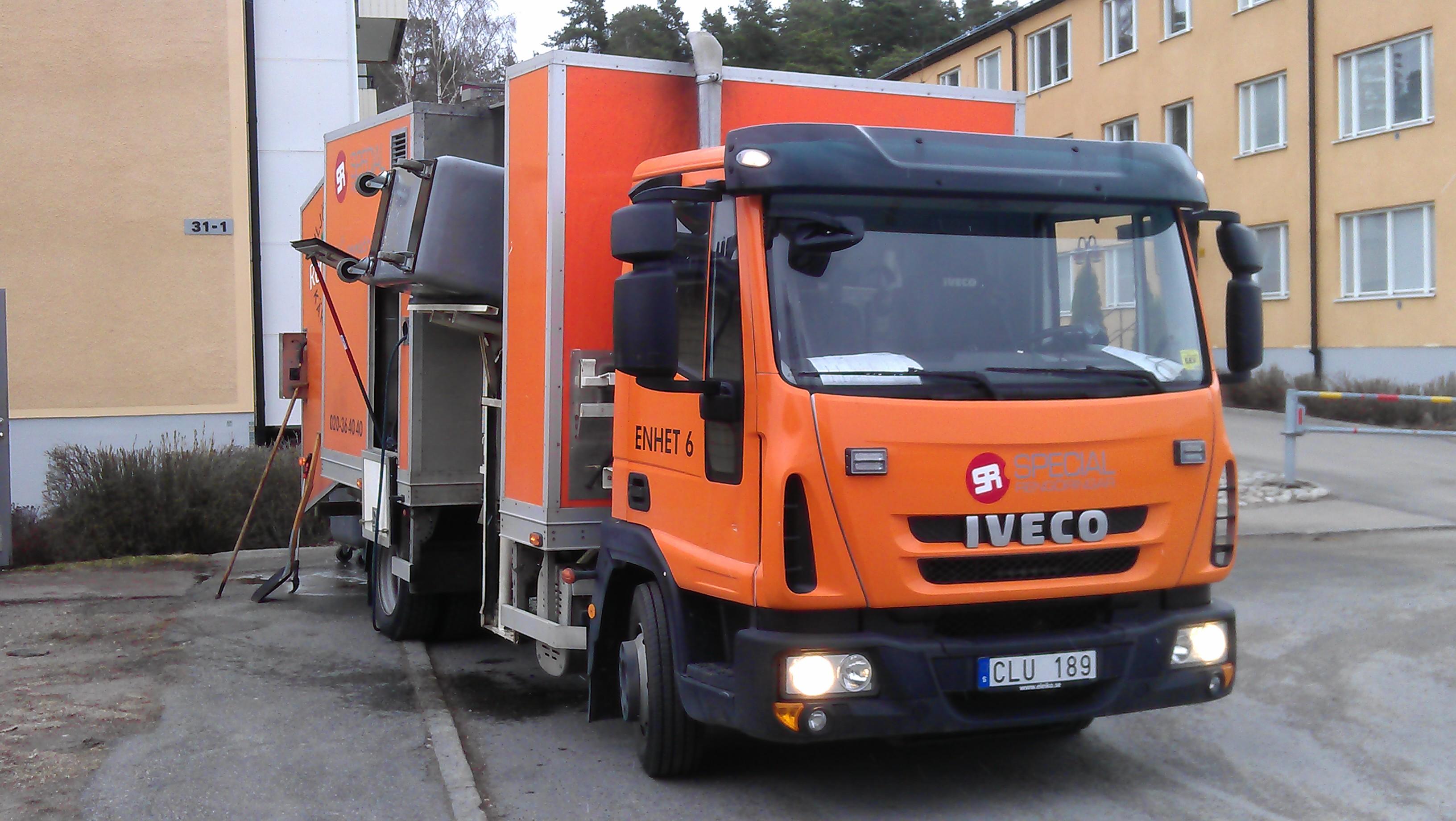 Enhet 6 sopkärlstvättar i Västerås